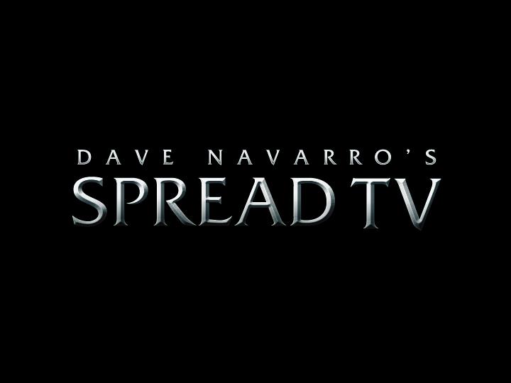 Dave Navarro's Spread TV Logo