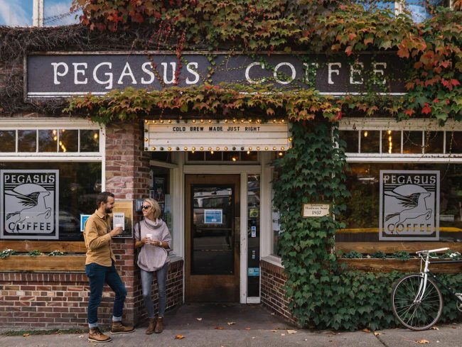 Pegasus Coffee House Exterior